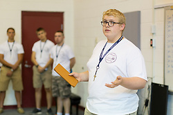 PERSONS participate in Kentucky Boys State at Campbellsville University in Campbellsville, Ky., on Wednesday, June 8. Photo by Jonathan Palmer/The American Legion