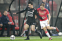 (L-R) Thom Haye of Willem II, Jonas Svensson of AZ Alkmaar