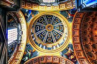 &ldquo;The Clementine Chapel dome of St. Peter's Basilica&rdquo;&hellip;<br />