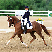 Daisy Kosa and Robic at the 2009 Cornerstone Summer Classic in Palgrave, Ontario.