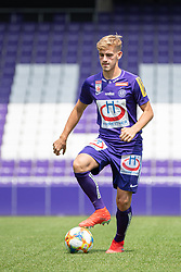 16.07.2019, Generali Arena, Wien, AUT, 1. FBL, FK Austria Wien, Fototermin, im Bild Niels Hahn // Niels Hahn during the official team and portrait photoshooting of tipico Bundesliga Club FK Austria Wien for the upcoming Season at the Generali Arena in Vienna, Austria on 2019/07/16. EXPA Pictures © 2019, PhotoCredit: EXPA/ Florian Schroetter