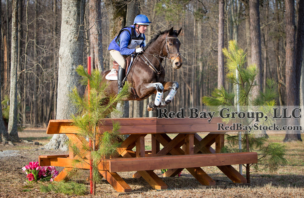 Will Faudree (USA) and Pawlow at the 2014 Pine Top Spring Advanced Horse Trials in Thomson, Georgia.