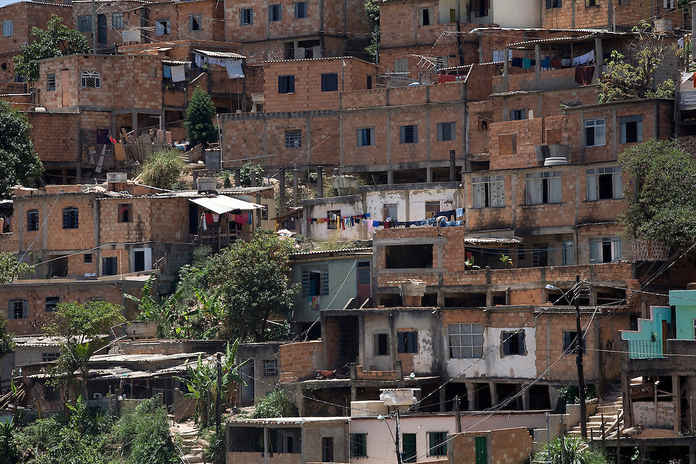 Belo Horizonte _ MG, Brasil..Aglomerado Serra em Belo Horizonte, Minas Gerais...The Serra neighborhood in Belo Horizonte, Minas Gerais...Foto: LEO DRUMOND / NITRO