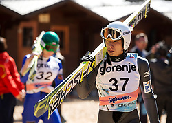20.03.2014, Planica, Ratece, SLO, FIS Weltcup Ski Sprung, Planica, Qualifikation, im Bild Yuta Watase // Yuta Watase during the qualifikation of the mens individual large Hill of the FIS Ski jumping Worldcup Cup finals at Planica in Ratece, Slovenia on 2014/03/20. EXPA Pictures © 2014, PhotoCredit: EXPA/ Newspix/ Irek Dorozanski<br /> <br /> *****ATTENTION - for AUT, SLO, CRO, SRB, BIH, MAZ, TUR, SUI, SWE only*****