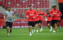 Last training of Poland National Team before tomorow friendly game with Lituania in Warsaw at the National Stadium, June 11, 2018..o/p Robert Lewandowski  (Credit Image: © Maciej Gillert/Xinhua via ZUMA Wire)