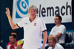 Ales Pipan, head coach of Poland, at exhibition game between Slovenia and Poland for Primus Trophy 2011Lithuania as part of exhibition games before European Championship L2011on July 23, 2011, in Ljudski Vrt, Ptuj, Slovenia. (Photo by Matic Klansek Velej / Sportida)