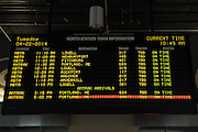 Departures/Arrivals, North Station, Boston, Massachusetts