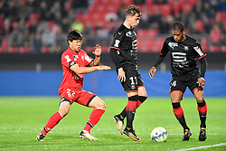 October 25, 2017 - Dijon, France - 11 Thomas BRANDON (ren) - 24 Ludovic BAAL (ren) - 22 Changhoon KWON  (Credit Image: © Panoramic via ZUMA Press)