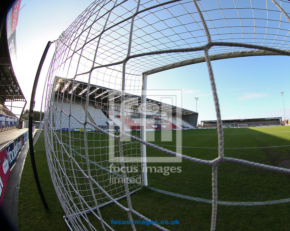 Picture by John  Rainford/Focus Images Ltd +44 7506 538356.10/11/2012.General view of the interior of the Globe Arena, Morecambe.