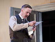 The Plough and the Stars <br /> directed by Howard davies and Jeremy Herrin <br /> at The Lyttelton Theatre, National Theatre, Southbank, London, Great Britain <br /> Press photocall<br /> 26th July 2016 <br /> <br /> <br /> Fionn Walton as Jack Clitheroe <br /> <br /> <br /> Photograph by Elliott Franks <br /> Image licensed to Elliott Franks Photography Services