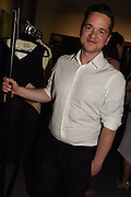 SEAN BYRNE, The Arthur Cox Irish Fashion Showcase 2015,  Irish based designers chosen to be part of this year's Arthur Cox Irish Fashion Showcases The Mall Galleries, London. 13 May 2015.
