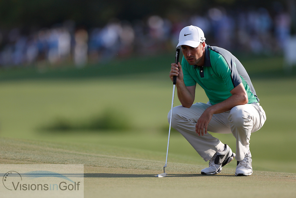 Ross Fisher<br /> during the third round of the Race To Dubai DP World Tour Golf Championship, Dubai, UAE November  2013<br /> Picture Credit:  Mark Newcombe / www.visionsingolf.com