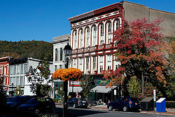 Downtown Main Street Cooperstown, New York, United States of America