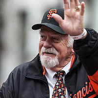 San Francisco Giants World Series Victory Parade 2012 - Gaylord Perry