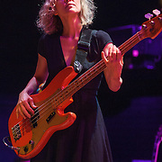 Britta Phillips of Luna performs at the 9:30 Club on their reunion tour.