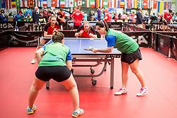 COSTA ALEXANDRE Bruna and RAUEN Danielle of Brasil at 14th Slovenia Open - Thermana Lasko 2017 Table Tennis for the Disabled Factor 40, on May 7, 2017, in Dvorana Tri Lilije, Lasko, Slovenia. Photo by Urban Urbanc / Sportida