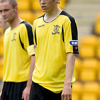 Livingston FC....Season 2008<br /> Murray Davidson<br /> Picture by Graeme Hart.<br /> Copyright Perthshire Picture Agency<br /> Tel: 01738 623350  Mobile: 07990 594431