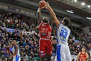 Bond Jaylen<br /> Banco di Sardegna Dinamo Sassari - The Flexx Pistoia<br /> LegaBasket Serie A LBA Poste Mobile 2017/2018<br /> Sassari 16/12/2017<br /> Foto Ciamillo-Castoria