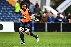 Andrew Durutalo of Worcester Warriors during the pre match warm up - Mandatory by-line: Craig Thomas/JMP - 27/01/2018 - RUGBY - Sixways Stadium - Worcester, England - Worcester Warriors v Exeter Chiefs - Anglo Welsh Cup