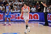 DESCRIZIONE : Campionato 2014/15 Serie A Beko Dinamo Banco di Sardegna Sassari - Grissin Bon Reggio Emilia Finale Playoff Gara6<br /> GIOCATORE : Amedeo Della Valle<br /> CATEGORIA : Ritratto Esultanza<br /> SQUADRA : Grissin Bon Reggio Emilia<br /> EVENTO : LegaBasket Serie A Beko 2014/2015<br /> GARA : Dinamo Banco di Sardegna Sassari - Grissin Bon Reggio Emilia Finale Playoff Gara6<br /> DATA : 24/06/2015<br /> SPORT : Pallacanestro <br /> AUTORE : Agenzia Ciamillo-Castoria/L.Canu