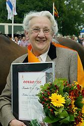 Van Sijpveld Mw-FVHJ Gelders Paard<br /> KWPN Paardendagen 2005<br /> Photo © Hippo Foto