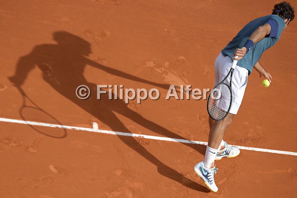 &copy; Filippo Alfero<br /> Monte-Carlo Tennis Masters 2014, Finale<br /> Monaco, 20/04/2014<br /> sport tennis<br /> Nella foto: