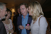 HARRY HYAMS, DORIT MOUSSAIEFF wife of the President of Iceland , LORD AND LADY LLOYD WEBBER. Private Preview of the Grosvenor House Art and Antiques Fair. 13 June 2007.  -DO NOT ARCHIVE-© Copyright Photograph by Dafydd Jones. 248 Clapham Rd. London SW9 0PZ. Tel 0207 820 0771. www.dafjones.com.