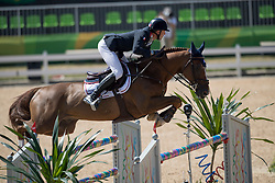 Staut Kevin, FRA, Reveur de Hurtebise HDC<br /> owner of the horse of Jerome with arms in the air<br /> Olympic Games Rio 2016<br /> © Hippo Foto - Dirk Caremans<br /> 14/08/16
