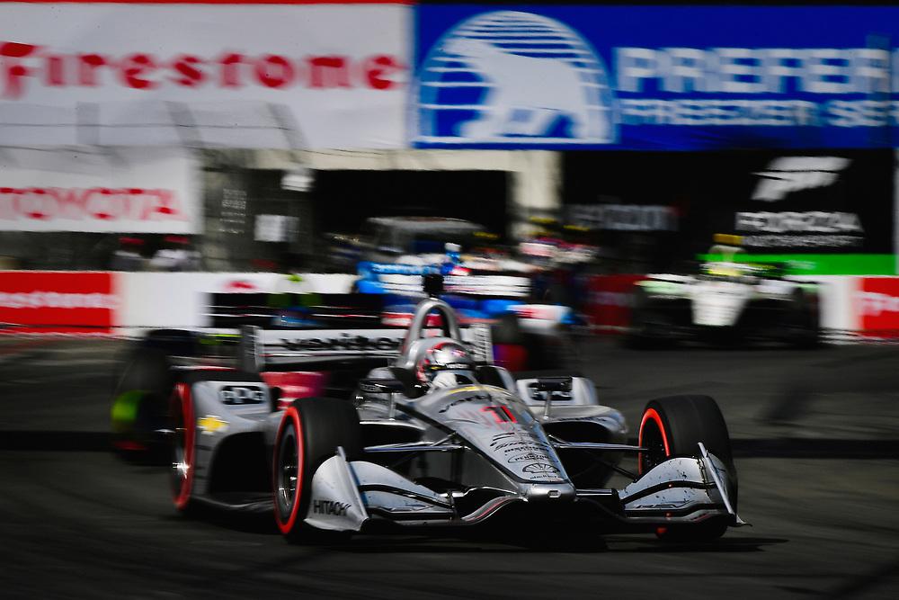 Josef Newgarden, Team Penske Chevrolet<br /> Sunday 15 April 2018<br /> Toyota Grand Prix of Long Beach<br /> Verizon IndyCar Series<br /> Streets of Long Beach, California USA<br /> World Copyright: Scott R LePage<br /> LAT Images