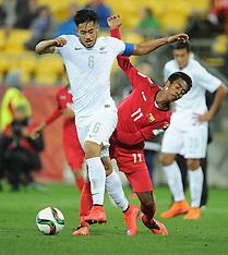 Wellington-Football, Under 20 World Cup, New Zealand v Myanmar