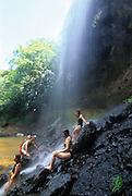 Waterfall, Babeldaob Island, Palau, Micronesia