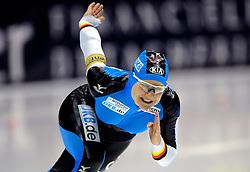 23-02-2008 SCHAATSEN: FINALE ISU WORLD CUP: HEERENVEEN<br /> Jenny Wolf<br /> ©2008-WWW.FOTOHOOGENDOORN.NL