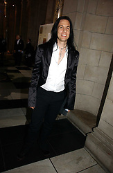 Designer TODD LYNN at the British Fashion Awards 2006 sponsored by Swarovski held at the V&A Museum, Cromwell Road, London SW7 on 2nd November 2006.<br />