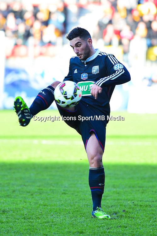 Jordan FERRI - 04.01.2014 - Lens / Lyon - Coupe de France<br />Photo : Dave Winter / Icon Sport