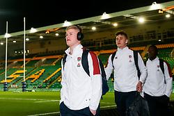 George Barton of England U20 - Rogan/JMP - 21/02/2020 - Franklin's Gardens - Northampton, England - England U20 v Ireland U20 - Under 20 Six Nations.