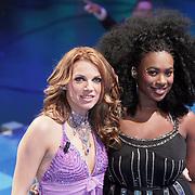 NLD/Hilversum/20080301 - Finale Idols 2008, Nathalie en Nikkie
