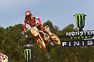 agueda, Portugal, 5th May 2013, World Championship MX1, German Maximilian Nagl with a Honda, 4th race 1 and  7th in race 2