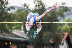 Axel Luxa competes during day 2 of Slovenian Athletics Cup 2019, on June 16, 2019 in Celje, Slovenia. Photo by Peter Kastelic / Sportida