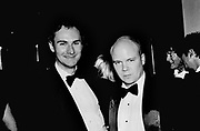 William Cash and Toby Young. Vanity Fair Oscar night party. Morton's, Los Angeles. 1996. © Copyright Photograph by Dafydd Jones 66 Stockwell Park Rd. London SW9 0DA Tel 020 7733 0108 www.dafjones.com