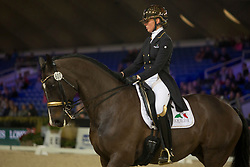 Isabel Cool, BEL, Aranco V<br /> Jumping Mechelen 2017<br /> © Sharon Vandeput<br /> 27/12/17