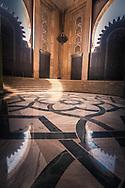 Hassan II Mosque window, Casablanca Morocco