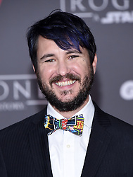 Celebrities arrive at the 'Rogue One: A Star Wars Story' movie premiere in Hollywood, California. 10 Dec 2016 Pictured: Wil Wheaton. Photo credit: American Foto Features / MEGA TheMegaAgency.com +1 888 505 6342