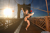 Dance As Art  New York City Photography Brooklyn Bridge Series with dancer, Valentina Sytcheva