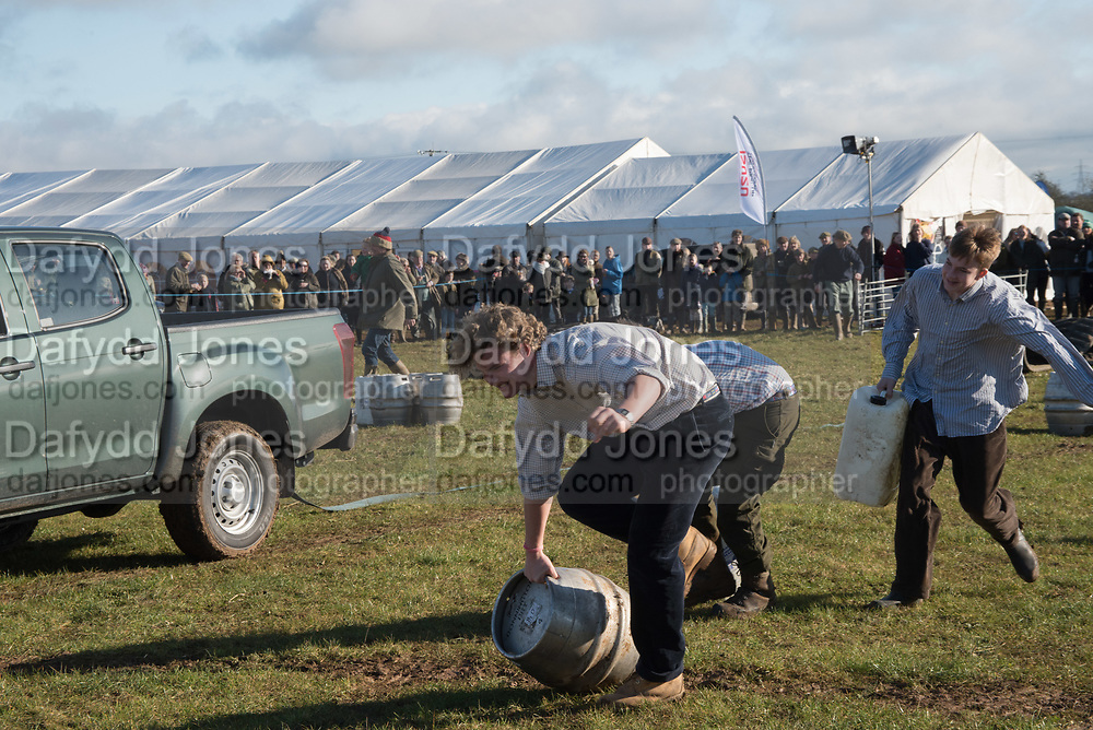 TOUGH FARMERS CHALLENGE, Heythrop Point to Point, Cocklebarrow, 28 January 2018