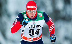 30.11.2014, Nordic Arena, Ruka, FIN, FIS Weltcup Langlauf, Kuusamo, 15 km Herren, im Bild Alexander Legkov (RUS) // Alexander Legkov of Russia during Mens 15 km Cross Country Race of FIS Nordic Combined World Cup at the Nordic Arena in Ruka, Finland on 2014/11/30. EXPA Pictures © 2014, PhotoCredit: EXPA/ JFK