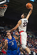 The Zags beat Creighton when it hosted the inaugural Jesuit Basketball Classic. (GU photo by Gavin Doremus)