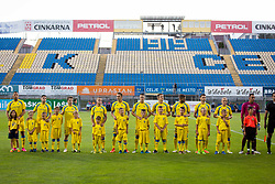 Players of NK Domzale during 1st leg match of 1st Round Qualifications for European League, on June 28, 2017 in Arena Petrol, Celje, Slovenia. Photo by Ziga Zupan / Sportida