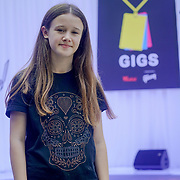 London, UK. 3rd September 2017.Finalists Lucy Gowen  preforms at the Mayor Of London Gigs at Westfield London.