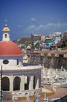 San Juan Cemetery, Barrio La Perla and Fort San Cristóbal
