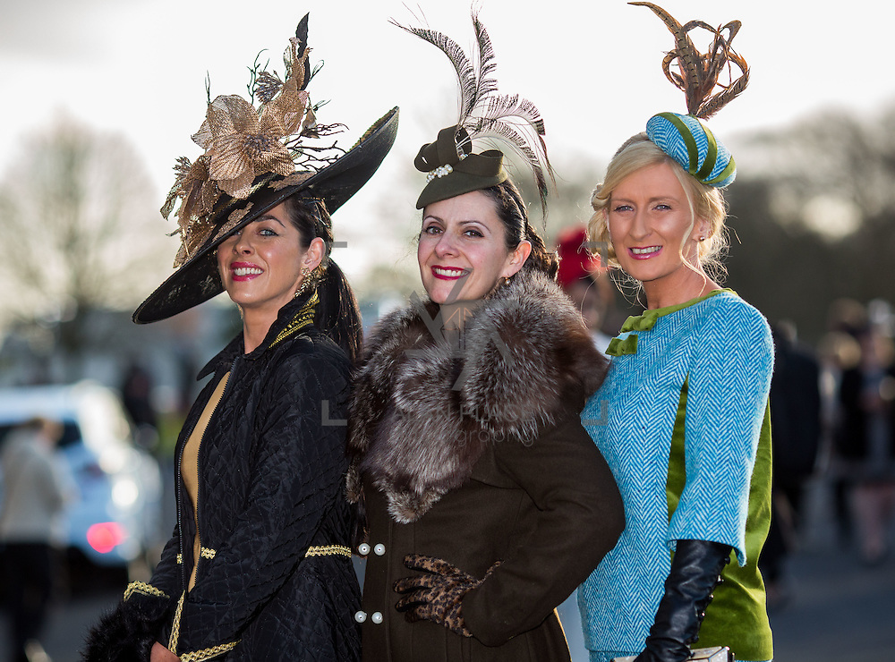 28.12.2016              <br /> Limerick Racecourse are delighted to announce that Sunway Holidays are once again the title sponsor of the Festive Most Stylish Ladies Day taking place on Wednesday 28th December as part of the 4 Day Shannon Airport Christmas Racing Festival which runs from 26th-29th December 2016.<br /> <br /> Attending the event were participants in the Festive Most Stylish Ladies Day at Limerick Racecourse, Grace Flynn, Kilcornan Co. Limerick, Ana Victoria Mulcahy, Ballinasloe Co. Galway. Picture: Alan Place